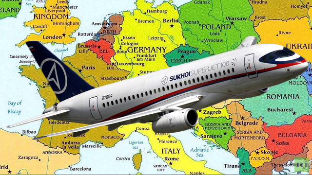 روسيا تتطلع إلى إدخال طائرتها المدنية SSJ-100 مجال المنافسة في سوق الطيران الأوروبية
