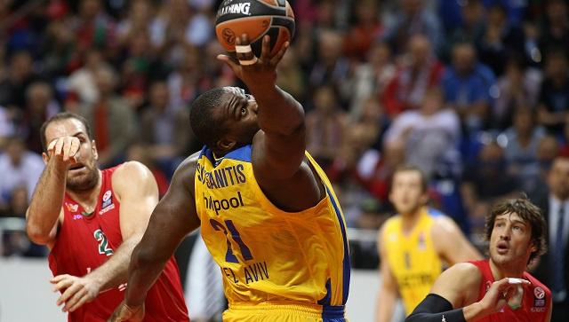 ماكابي يهزم لوكوموتيف الروسي في الدوري الأوروبي بكرة السلة