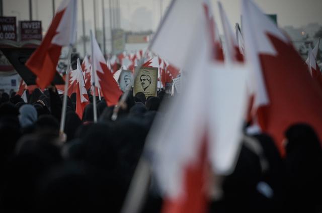 آلاف المعارضين يتظاهرون في البحرين مطالبين بالحل السياسي للأزمة