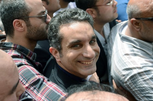 إيقاف إذاعة برنامج باسم يوسف لعدم التزامه بـ