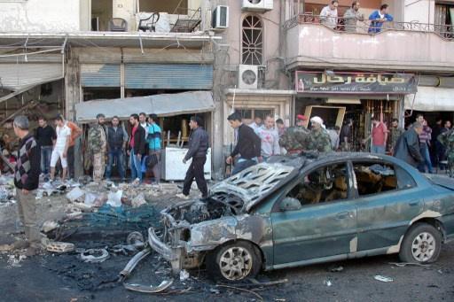 أكثر من 10 قتلى جراء انفجار سيارة في حي سكني بمدينة يبرود في ريف دمشق