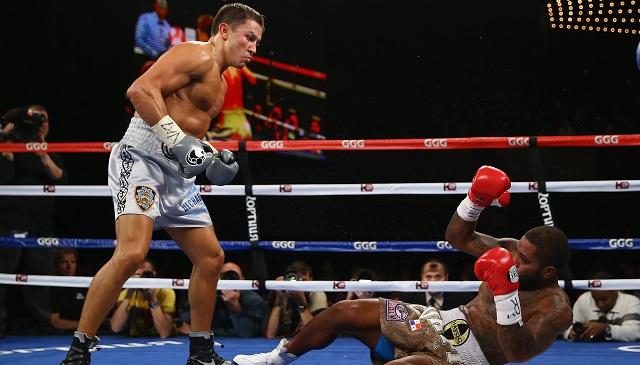 الملاكم الكازاخي غولوفكين يدافع عن لقب بطل العالم للمرة التاسعة توالياً