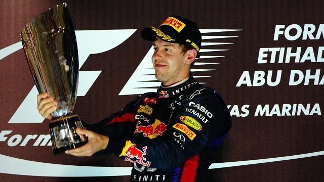 فيتل يتوج بجائزة أبوظبي الكبرى .. ويعادل رقم الاسطورة شوماخر بفوزه في 7 سباقات متتالية