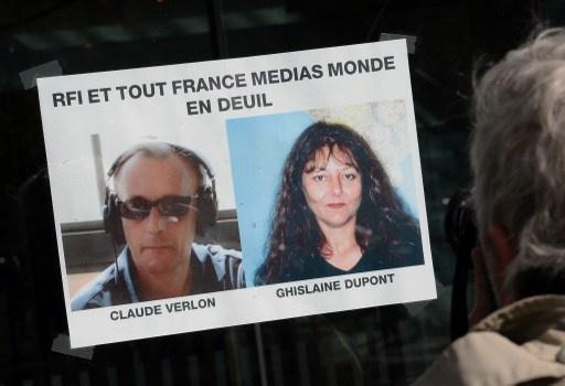 القبض على 10 مشتبه بهم في قضية اغتيال الصحفيين الفرنسيين في مالي