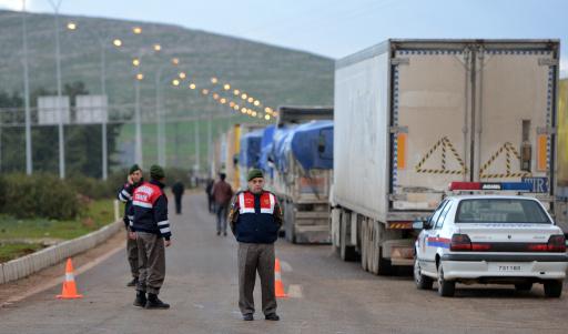تركيا تضبط مواد كيميائية على الحدود مع سورية