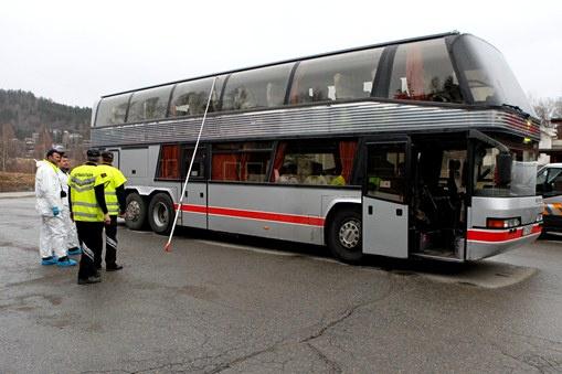 مقتل ثلاثة أشخاص في حادث اختطاف حافلة ركاب في النرويج
