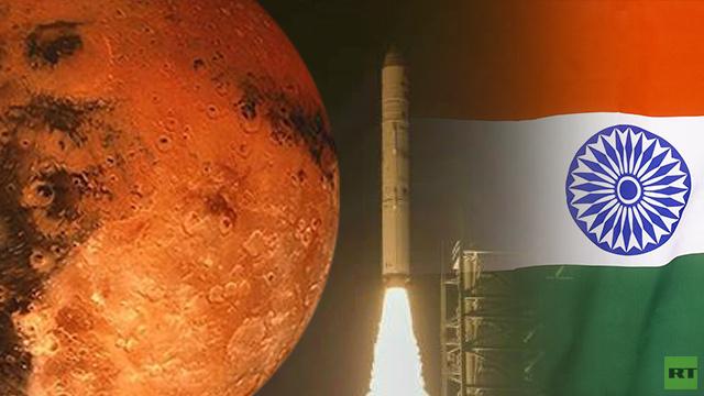 بالفيديو... لأول مرة في تاريخها الهند تطلق مسبارا إلى المريخ