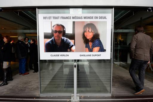وصول جثماني الصحفيين الفرنسيين المقتولين في مالي الى باريس