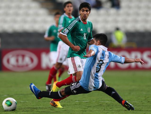 المكسيك تعبر الى نهائي مونديال الناشئين بثلاثية في شباك الأرجنتين