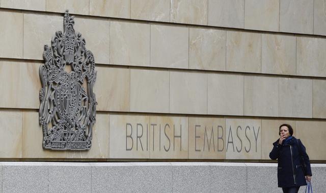 استدعاء السفير البريطاني في برلين على خلفية الأنباء عن استخدام مبنى السفارة للتنصت