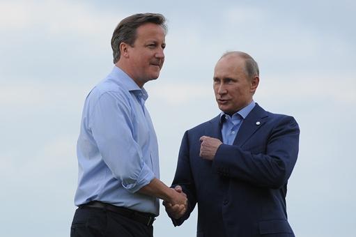 بوتين وكاميرون يبحثان سير التحضير لمؤتمر