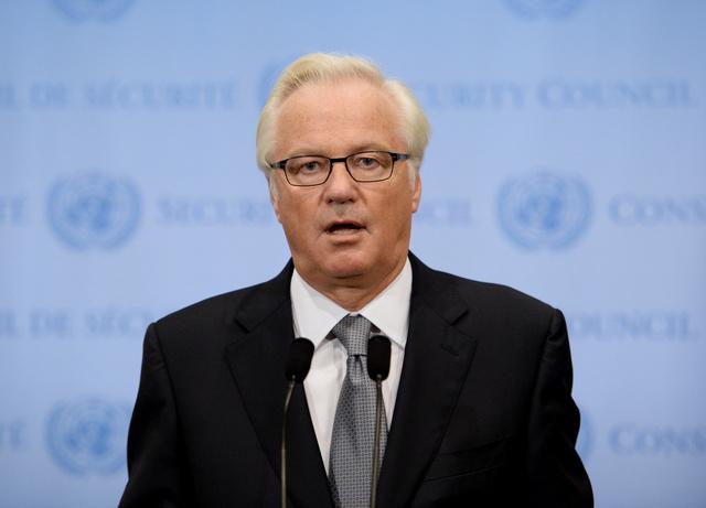 تشوركين: روسيا تدرس مختلف الخيارات للمشاركة في عملية إتلاف الكيميائي السوري