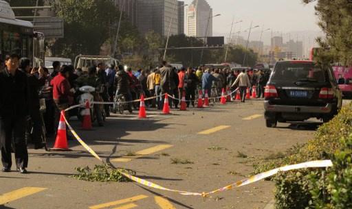 مقتل شخص وإصابة 8 آخرين في سلسلة تفجيرات استهدف مقر الحزب الشيوعي شمال الصين