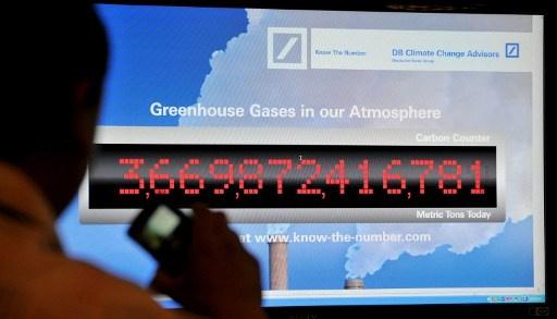 تركيز غازات الدفيئة في الغلاف الجوي يرتفع الى مستويات قياسية