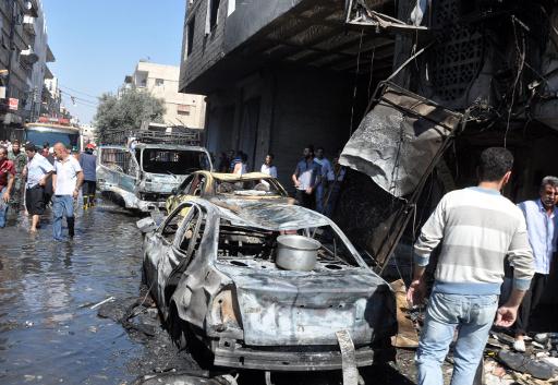 مراسلنا: مقتل رئيس قسم في فرع المخابرات الجوية و11 اخرين بمحافظة السويداء في تفجير سيارة مفخخة