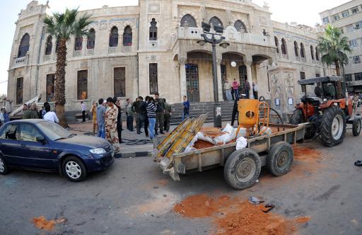 8 قتلى و50 جريحا في انفجار عبوة ناسفة بساحة الحجاز وسط دمشق