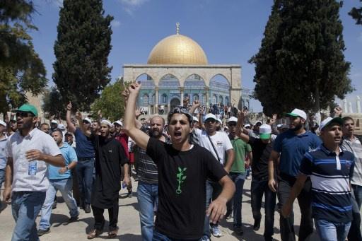 رؤساء المؤسسات الدينية في القدس ينددون بالمخططات الإسرائيلية لتقسيم الأقصى