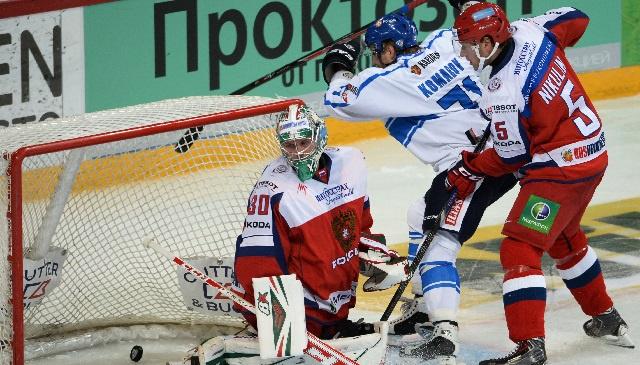 فنلندا تفوز على روسيا في كأس كاريالا للهوكي