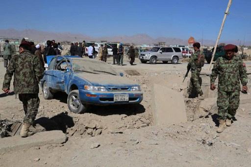 مصرع 8 مدنيين بانفجار عبوة ناسفة في افغانستان