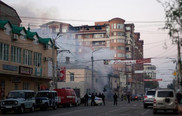 مقتل شخص واحد واصابة آخر في انفجار بمتجر وسط عاصمة جمهورية داغستان