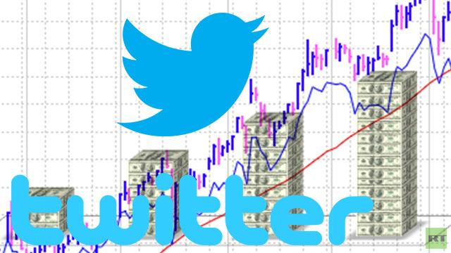 سهم تويتر ينطلق مسجلا ارتفاعا بنسبة 73% في أول 40 دقيقة لتداولاته