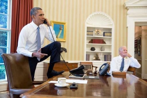اوباما يطمئن نتنياهو: لن نسمح بايران نووية