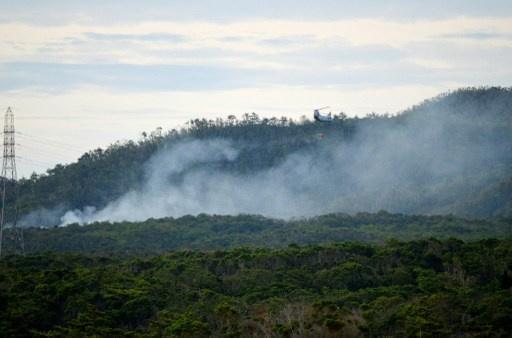 مصرع 13 شخصا في تحطم مروحية عسكرية باندونيسيا
