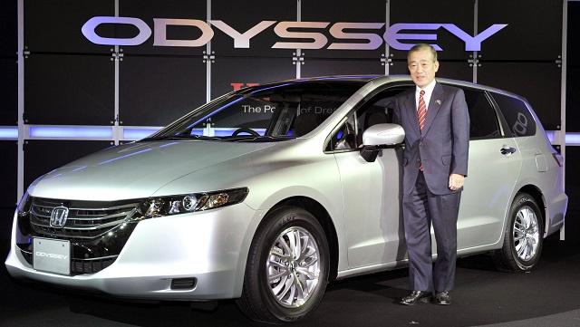 شركة هوندا تستدعي 344 ألف سيارة من طراز اوديسا بسبب خلل في نظام المكابح