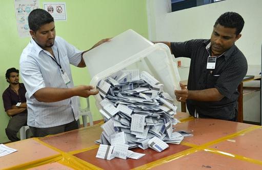 انتهاء التصويت في انتخابات الرئاسة في المالديف