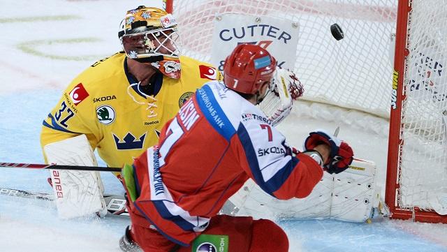 روسيا تفوز على السويد في كأس كاريالا للهوكي