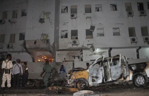 الشباب الصومالية تتبنى تفجير مقديشو