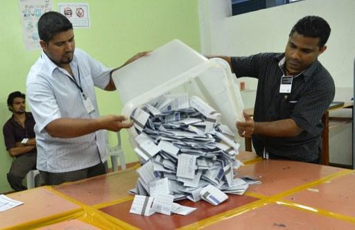 تعليق الجولة الثانية من الانتخابات الرئاسية في المالديف