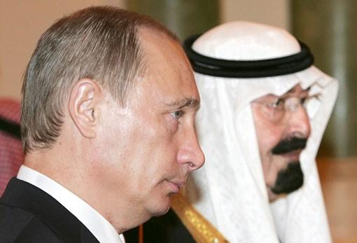 بوتين وملك السعودية يبحثان في اتصال هاتفي الملفين السوري والإيراني النووي