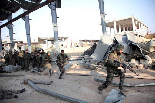 الجيش السوري يستعيد السيطرة على اللواء 80 في ريف حلب