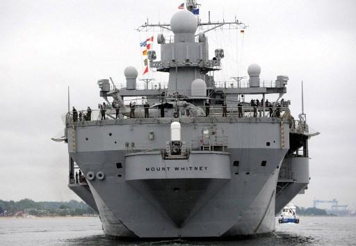سفينة قيادة أمريكية تصل باتومي للمشاركة في مناورات مع خفر السواحل الجورجي