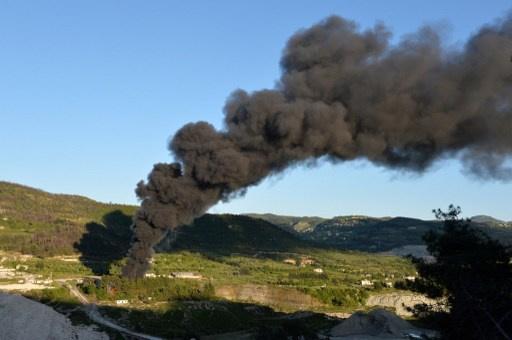 مصادر لـ RT: سماع انفجار قوي في كافة انحاء اللاذقية