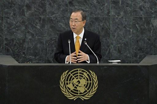 بان كي مون يؤكد سعي الأمم المتحدة إلى عقد