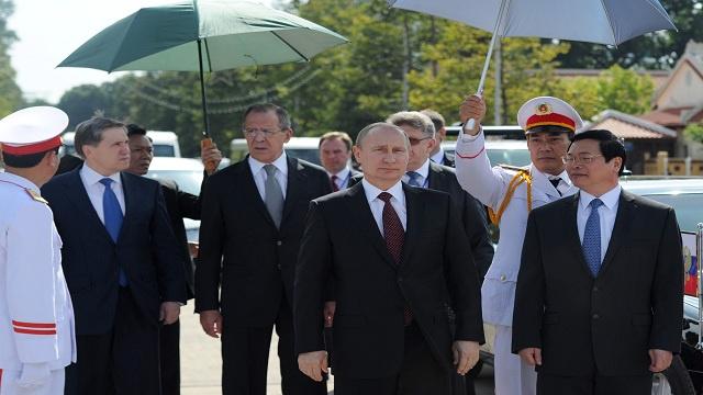 بوتين في فيتنام بزيارة رسمية