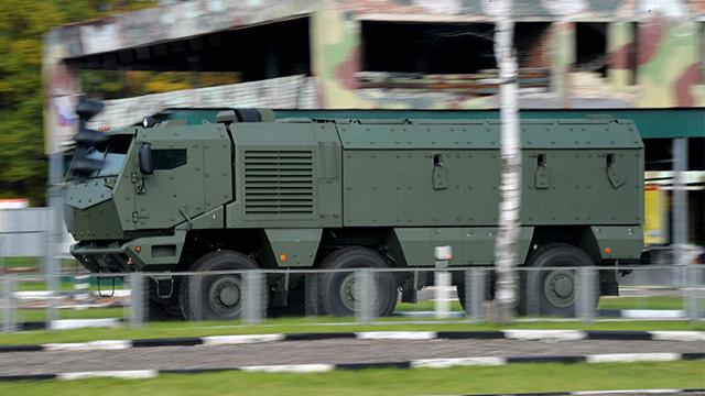 القوات الخاصة الروسية تتزود بعربات مدرعة حديثة من طراز
