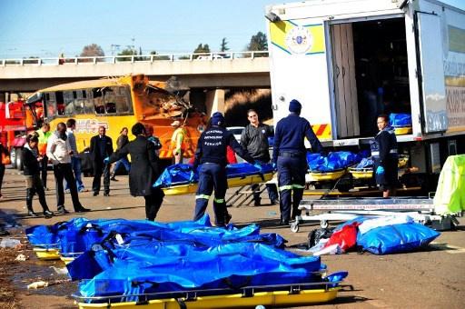 29 قتيلا في حادث سير في جنوب أفريقيا
