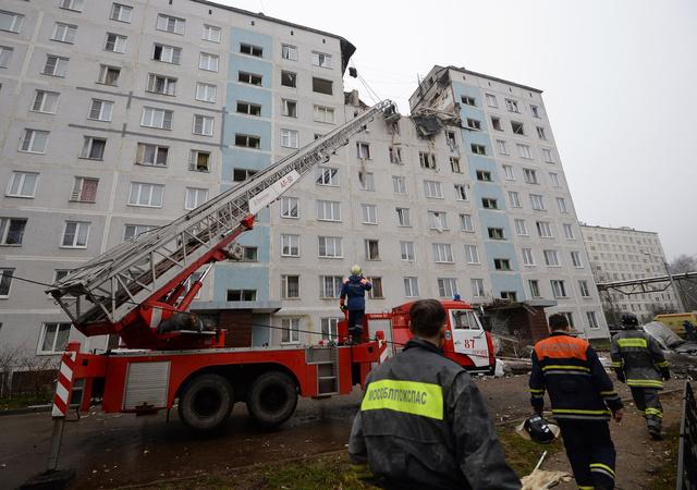 ارتفاع عدد ضحايا انفجار الغاز بعمارة سكنية في ضواحي موسكو الى 6 أشخاص