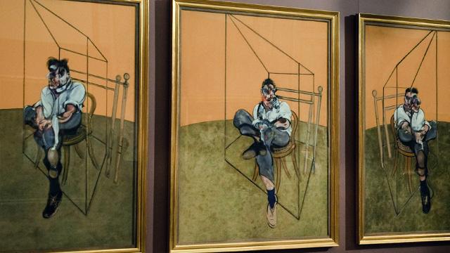 لوحة ثلاثية لفرانسيس بيكون تصبح العمل الفني الأغلى في العالم