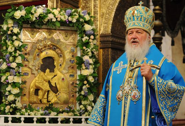 البطريرك كيريل قلق إزاء وضع المسيحيين في الشرق الأوسط وخاصة في سورية