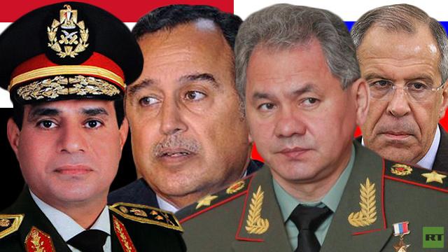 زيارة تاريخية لوزيري خارجية ودفاع روسيا الى مصر