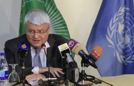 الأمم المتحدة لا تستبعد إرسال قوات حفظ سلام إلى سورية