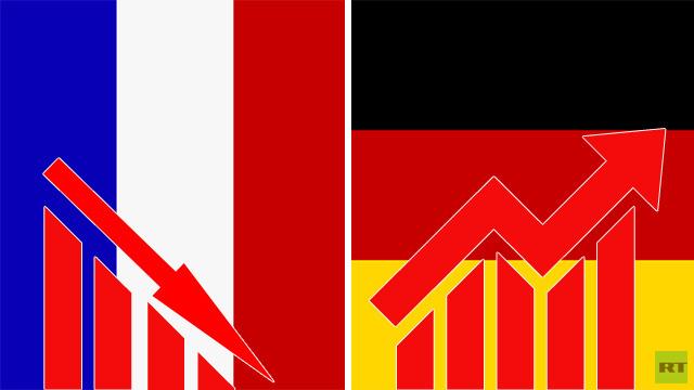 نمو الاقتصاد الألماني وتراجع الفرنسي في الربع الثالث من عام 2013