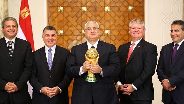كأس العالم تصل الى مصر فهل سيصل الفراعنة أنفسهم الى الكأس؟