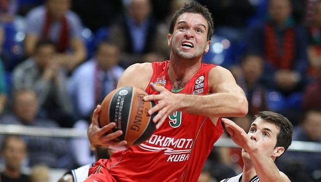 لوكوموتيف الروسي يهزم لابورال الإسباني بكرة السلة