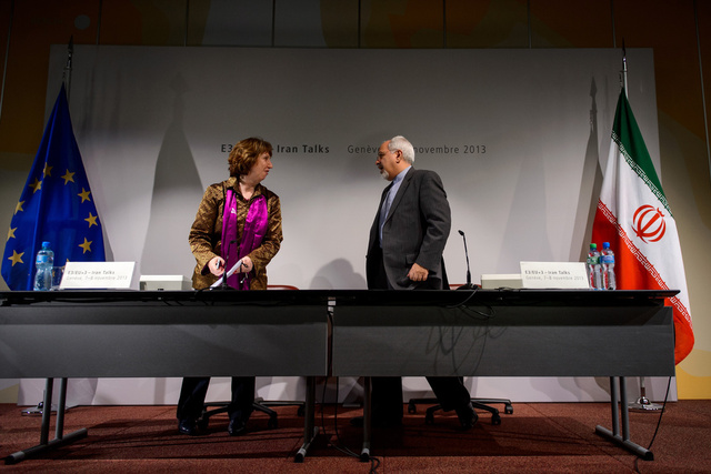 متحدث باسم اشتون: جولة المفاوضات المقبلة بين السداسية وإيران ستجري 21-22 نوفمبر في جنيف