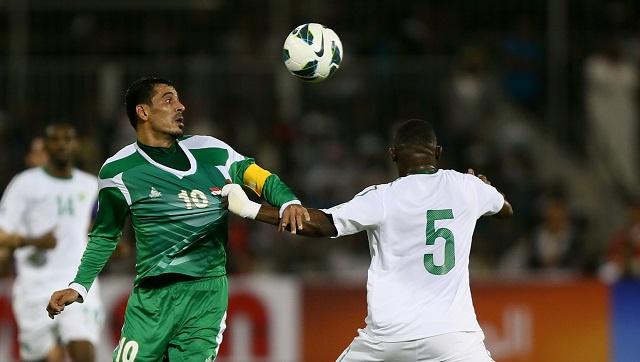 الأخضر السعودي يعمق جراح أسود الرافدين ويبلغ نهائيات كأس آسيا 2015